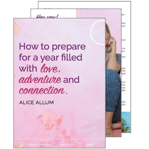 Free resources_How to prepare for a year of love_Alice Allum