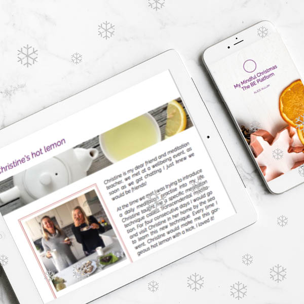 My Mindful Christmas_With Alice Allum_Digital Book Download