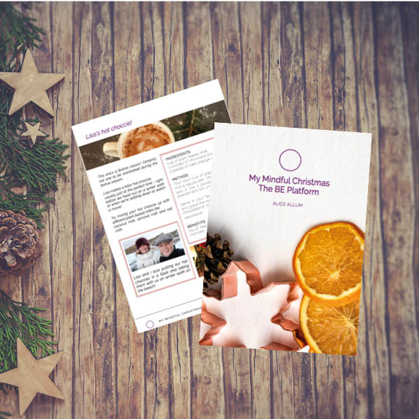 The Be Platform_Mindful Christmas with Alice Allum on Wooden background2