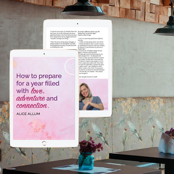 How to prepare for a year of love with Alice Allum_The Be Platform_Download for freeV1
