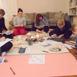 New Moon Womens Circle gathering in Tynemouth