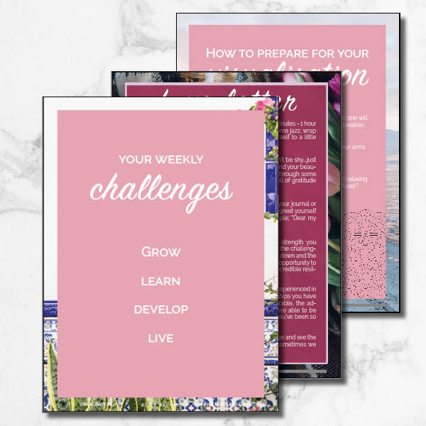 Challenges for my beautiful life