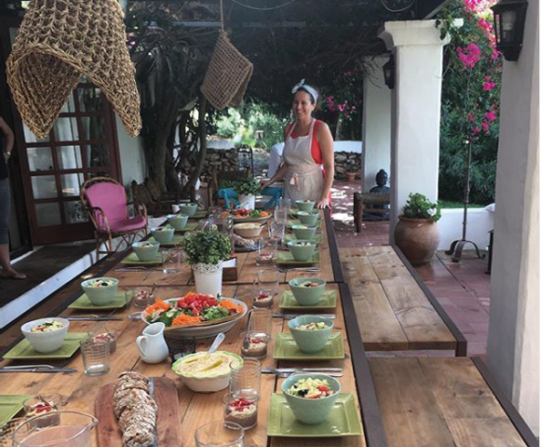 Ibiza Yoga Retreat with Alice Allum_dining room