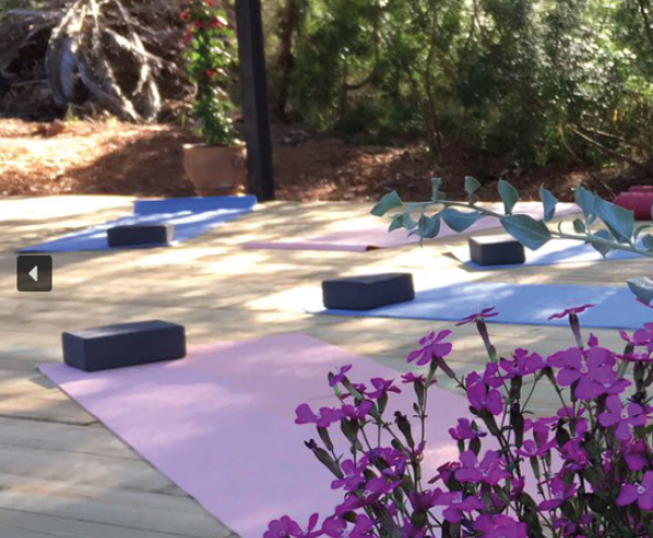 Ibiza Yoga Retreat with Alice Allum_yoga deck