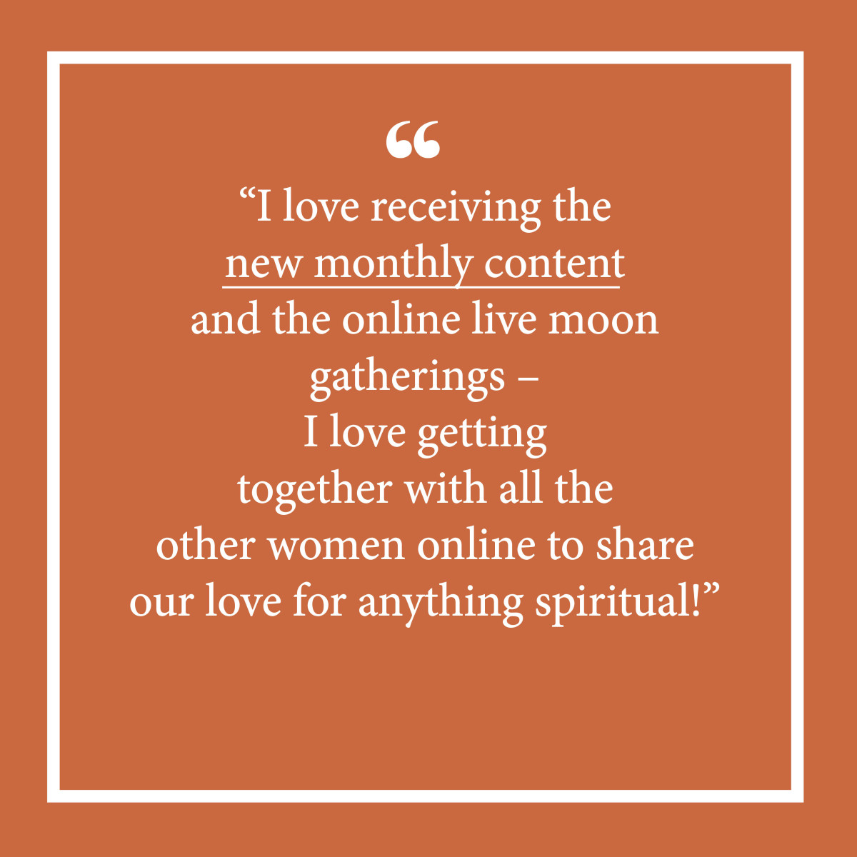 The Sisterhood_Testimonial for membership V4